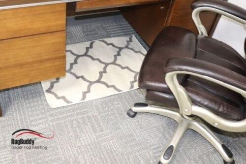 Rug Buddy 065 is great under desks
