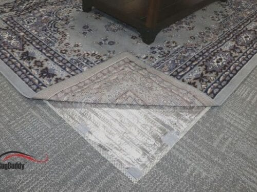 RugBuddy 365 can be used over carpet