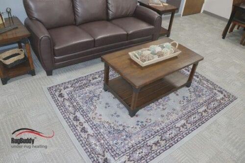 RugBuddy 365 fits under 5 x 7 rug